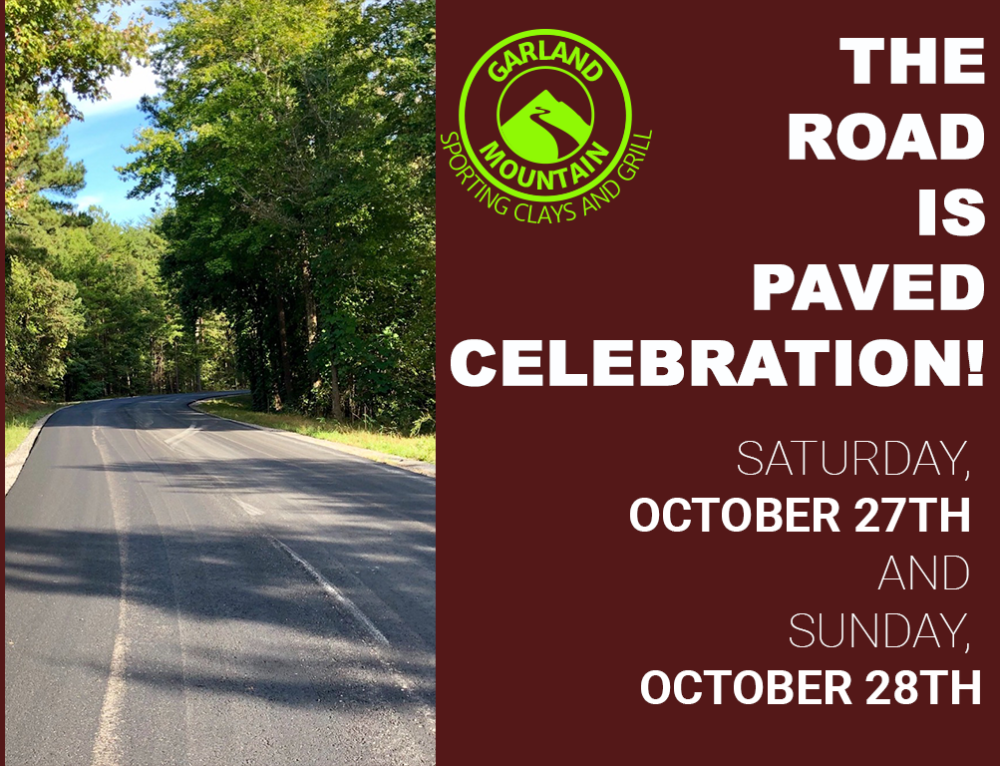 THE ROAD IS PAVED CELEBRATION
